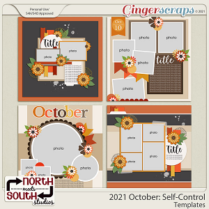 2021 October: Self-Control Templates by North Meets South Studios