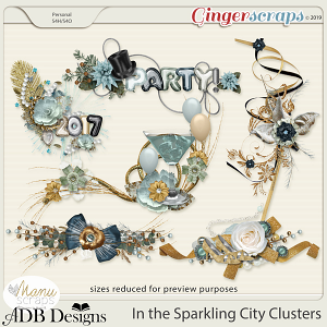 In The Sparkling City Clusters by ADB Designs