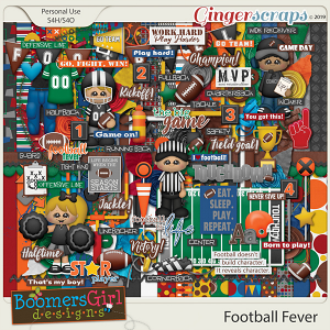 Football Fever by BoomersGirl Designs