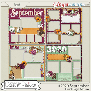 #2020 September - Quick Pages by Connie Prince