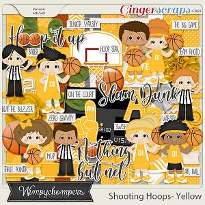 Shooting Hoops- Yellow