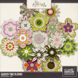 Garden Time Blooms by Aimee Harrison