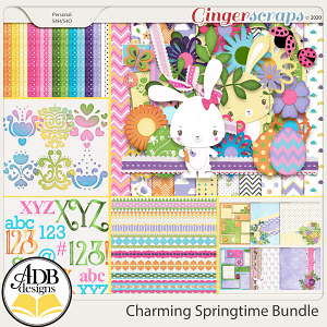 Charming Springtime Bundle by ADB Designs