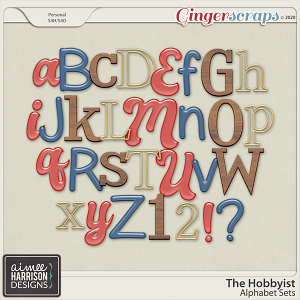 The Hobbyist Alpha Sets by Aimee Harrison