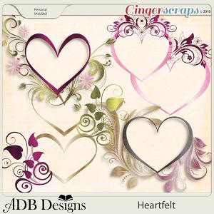 Heartfelt Flourished Frames