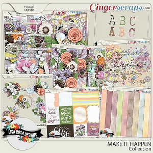 Make it Happen - Collection by Lisa Rosa Designs