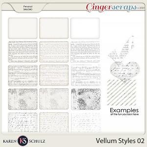 Vellum Styles 02 by Karen Schulz