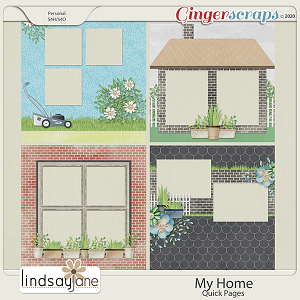 My Home Quick Pages by Lindsay Jane