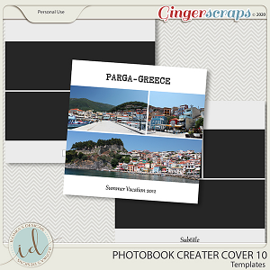 Photobook Creater Cover 10 by Ilonka's Designs