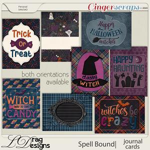 Spellbound: Journal Cards by LDragDesigns