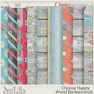 Choose Happy Wood Backgrounds