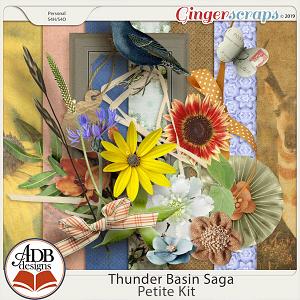 Thunder Basin Saga Petite Kit by ADB Designs