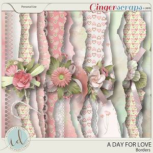 A Day For Love Borders by Ilonka's Designs