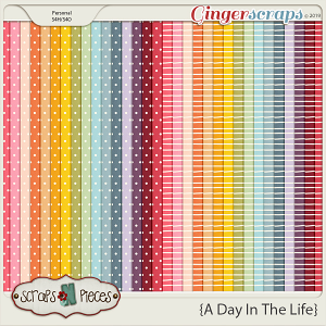 A Day In The Life Paper Pack by Scraps N Pieces