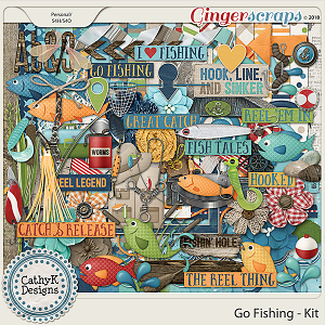 Go Fishing - Kit by CathyK Designs