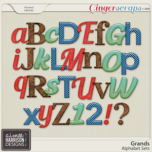 Grands Alpha Sets by Aimee Harrison