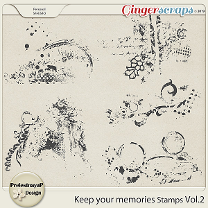 Keep your memories Stamps Vol.2