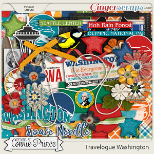Travelogue Washington - Kit