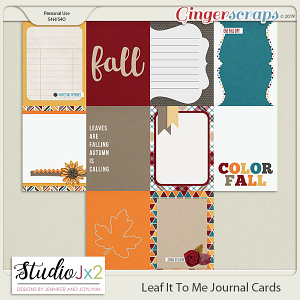 Leaf It To Me Journal Card Pack