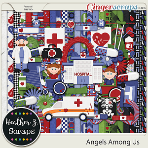 Angels Among Us {Kit}
