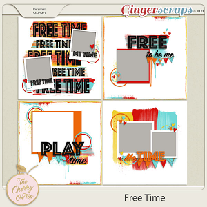 The Cherry On Top Free Time Templates