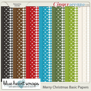 Merry Christmas Basic Paper Pack