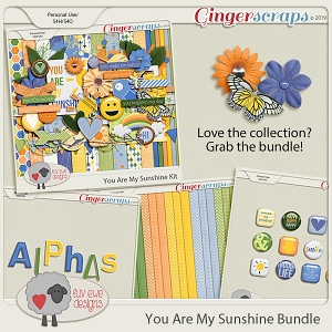 You Are My Sunshine Bundle by Luv Ewe Designs