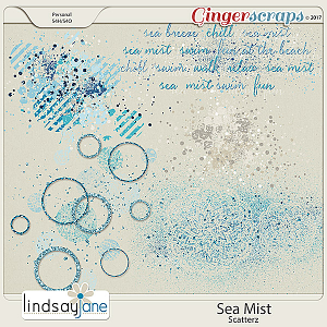 Sea Mist Scatterz by Lindsay Jane