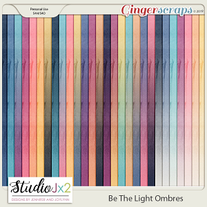 Be The Light Ombre Papers