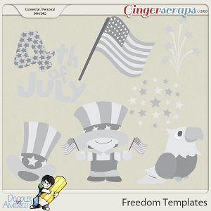 Doodles By Americo: Freedom Templates