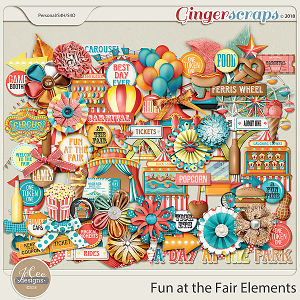 Fun At The Fair Elements by JoCee Designs