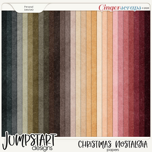 Christmas Nostalgia {Papers}