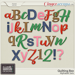 Quilting Bee Alpha Sets by Aimee Harrison