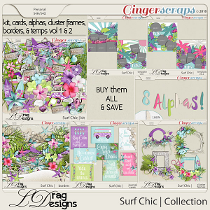 Surf Chic: The Collection by LDragDesigns