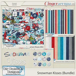 Snowman Kisses {Bundled Collection} by Day Dreams 'n Designs