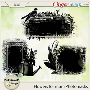 Flowers for mum Photomasks