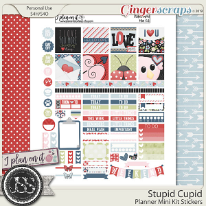 Stupid Cupid Planner Mini Kit