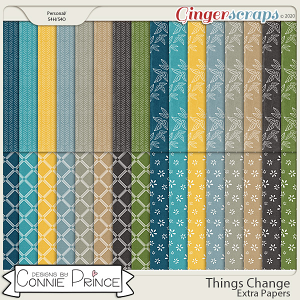 Things Change - Extra Papers by Connie Prince