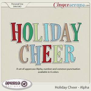 Holiday Cheer - Alpha by Aprilisa Designs