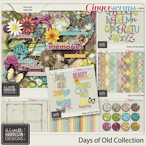 Days of Old Collection by Aimee Harrison