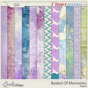 Basket Of Memories-Papers