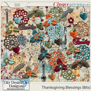 Thanksgiving Blessings {Bits} by Day Dreams 'n Designs