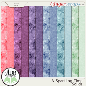 A Sparkling Time Solid Papers by ADB Designs