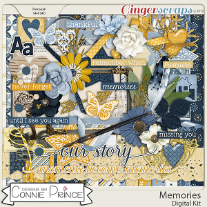Memories - Kit by Connie Prince