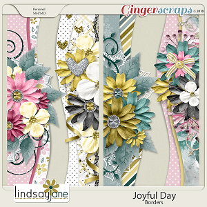 Joyful Day Borders by Lindsay Jane