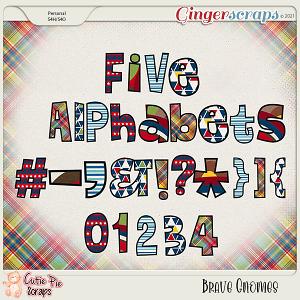 Brave Gnomes Alphabets