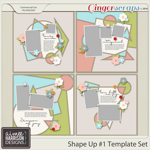 Shape It #1 Templates by Aimee Harrison