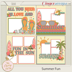 The Cherry On Top: Summer Fun Templates