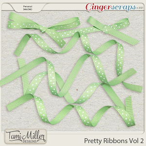 Pretty Ribbons Vol 2 by Tami Miller Designs