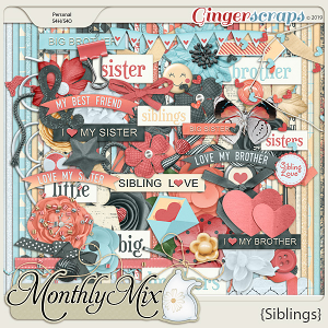 GingerBread Ladies Monthly Mix: Siblings
